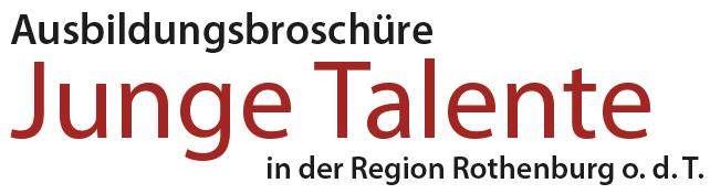 Junge Talente in der Region Rothenburg ob der Tauber Logo